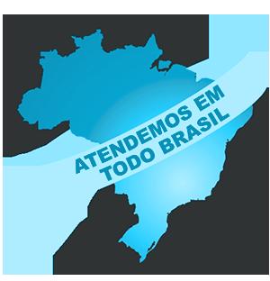 Atendemos em todo Brasil