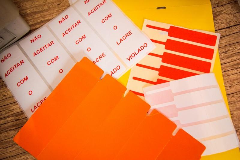 Etiqueta adesiva personalizada para congelados